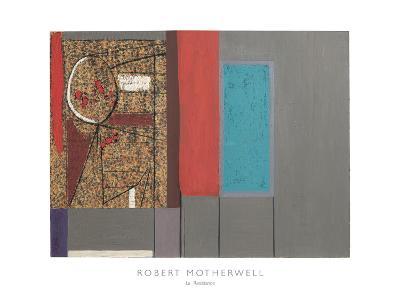 La Resistance, 1945-Robert Motherwell-Art Print