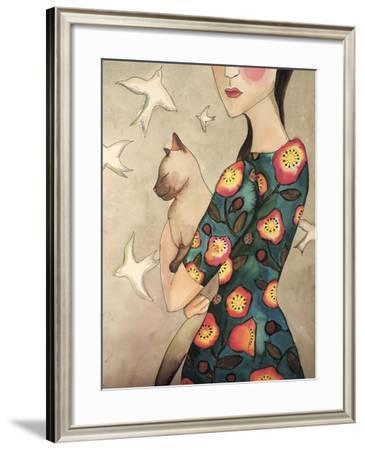 La Reverie-Sylvie Demers-Framed Giclee Print