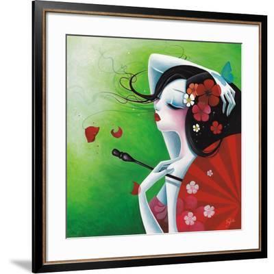La Risée Fleurie-Sybile-Framed Art Print