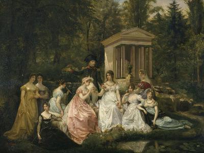 La Rose de Malmaison-du Vigneau Victor Viger-Giclee Print