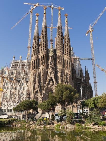 La Sagrada Familia By Antoni Gaudi Unesco World Heritage Site Barcelona Catalonia Spain Europe Photographic Print Sergio Pitamitz Art Com