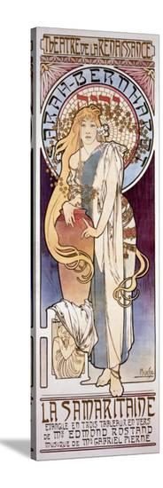 La Samaritaine-Alphonse Mucha-Stretched Canvas Print