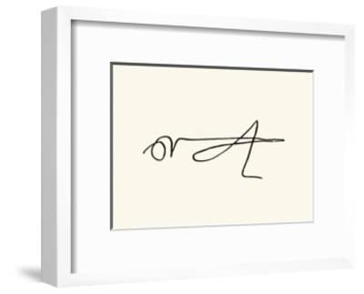 La Sauterelle, c.1907-Pablo Picasso-Framed Serigraph