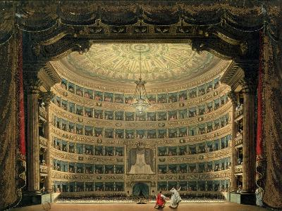 La Scala, Milan, During a Performance--Giclee Print