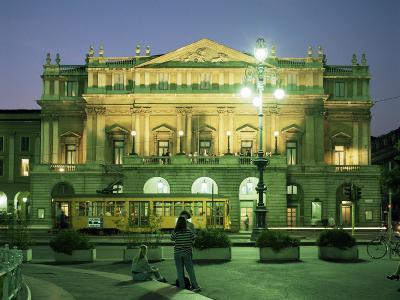 La Scala Opera House, Milan, Lombardia, Italy-Peter Scholey-Photographic Print