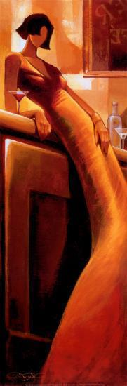 La Seductrice-Keith Mallett-Art Print