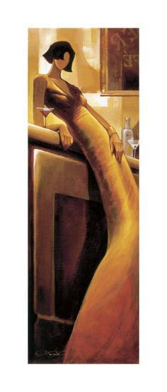 La Seductrice-Keith Mallett-Giclee Print