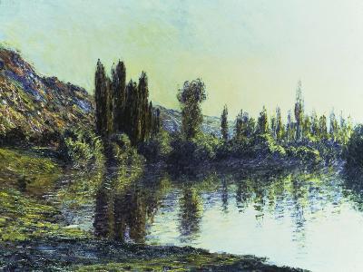 La Seine a Vetheuil, 1881-Claude Monet-Giclee Print
