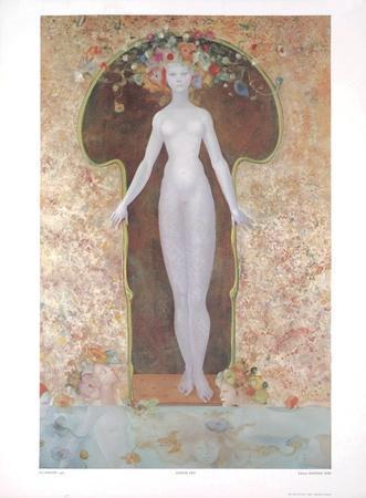 La Serrure-Leonor Fini-Art Print
