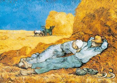 La Siesta-Vincent van Gogh-Art Print