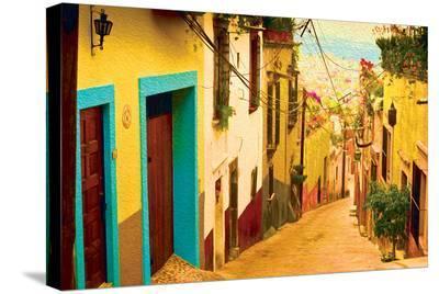 La Siesta--Stretched Canvas Print