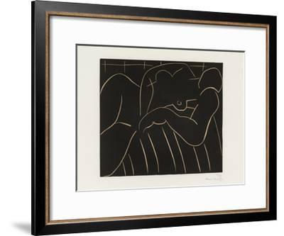 La Sieste, 1938-Henri Matisse-Framed Art Print