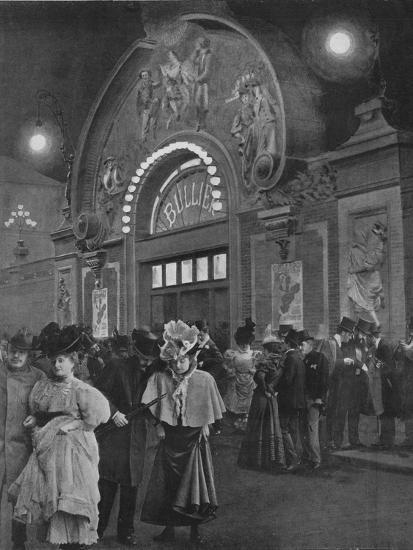 'La Sortie De Bullier', 1900-Unknown-Photographic Print