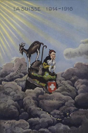 La Suisse 1914-1916--Giclee Print