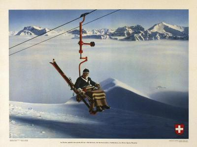 La Suisse, Paradis des Sports d Hiver-Marcus Jules-Giclee Print