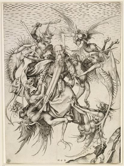 La Tentation de saint Antoine-Martin Schongauer-Giclee Print