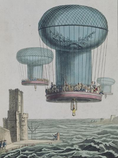 La thilorière ou descente en Angleterre. 13 prairial An XI.--Giclee Print