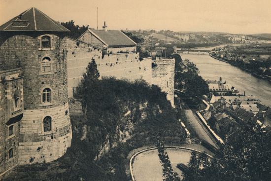 'La Tour de la Citadelle et Panorama de la Meuse', c1900-Unknown-Photographic Print