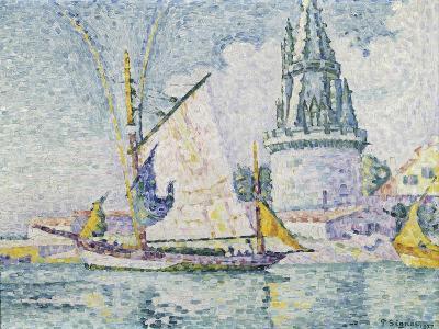 La Tour de Quatre Sergents, La Rochelle-Paul Signac-Giclee Print