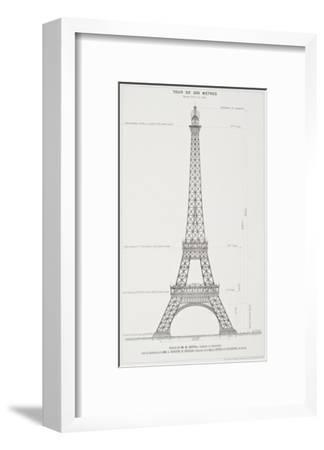La Tour Eiffel de 300 mètres, projet coté
