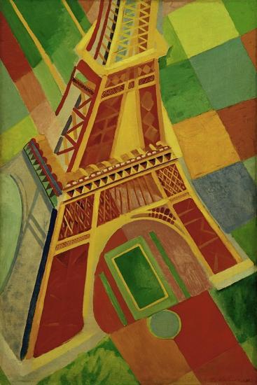La Tour Eiffel (Eiffel tower), 1926-Robert Delaunay-Giclee Print