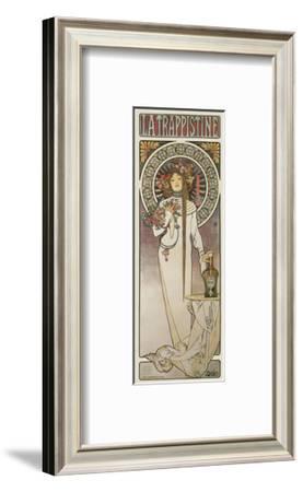 La Trappistine, 1897-Alphonse Mucha-Framed Art Print