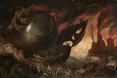 La Traversée Du Styx, C1591-1638-Jacob Isaacz van Swanenburg-Giclee Print