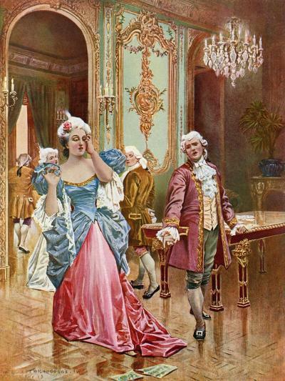 La Traviata, Act II Scene IV-William De Leftwich Dodge-Giclee Print