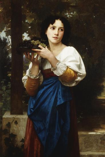 La Treille, 1898-William Adolphe Bouguereau-Giclee Print