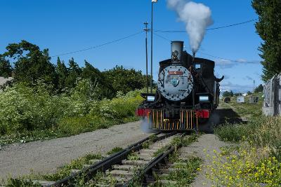 La Trochita Old Patagonian Express Between Esquel and El Maiten in Chubut Province, South America-Michael Runkel-Photographic Print