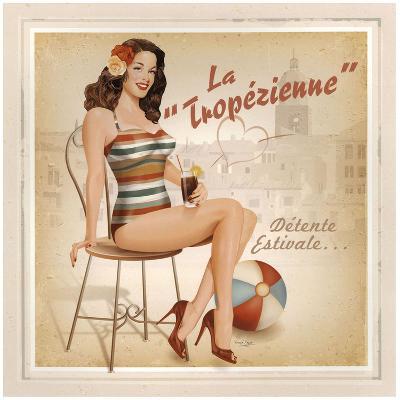 La Tropézienne-Bruno Pozzo-Art Print