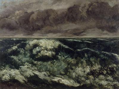 La Vague-Gustave Courbet-Giclee Print