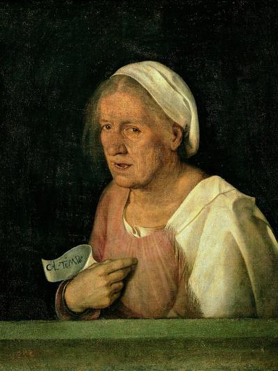La Vecchia (The Old Woman) after 1505-Giorgione-Giclee Print