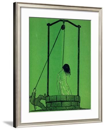 La Vérité En Allemagne, from 'Le Mot' Magazine, C.1915--Framed Giclee Print