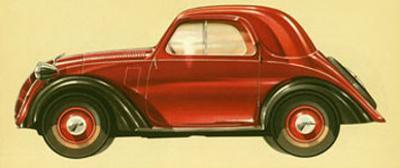 La Vettura Topolino Fiat