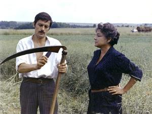 La veuve Couderc by Pierre Granier Deferre with Alain Delon and Simone Signoret, 1971 (d'apres Geor