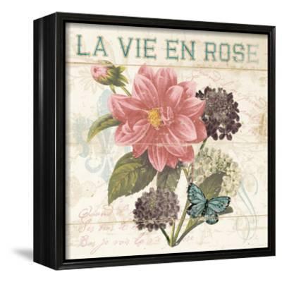 La Vie En Rose-Piper Ballantyne-Framed Canvas Print