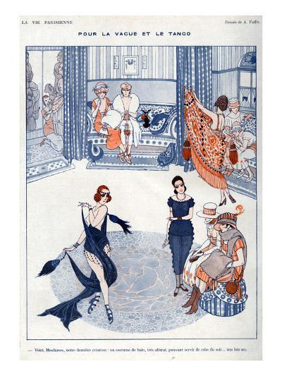 La Vie Parisienne, A Vallee, 19119, France--Giclee Print