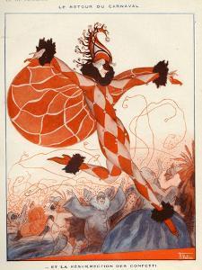 La Vie Parisienne, A Vallee, 1922, France