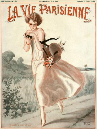 La Vie Parisienne, A Vallee, 1924, France