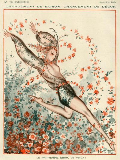 La Vie Parisienne, A Vallee, 1924, France--Giclee Print