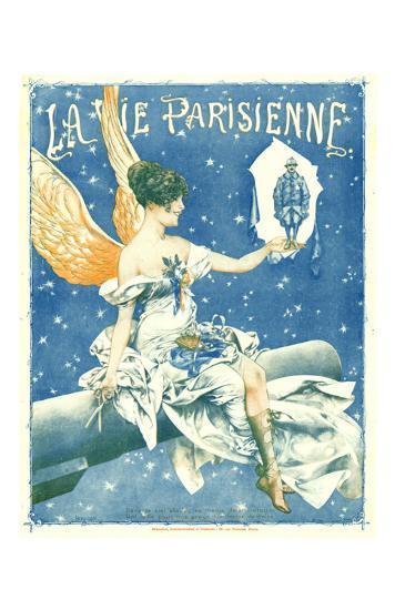 La Vie Parisienne Angel--Art Print