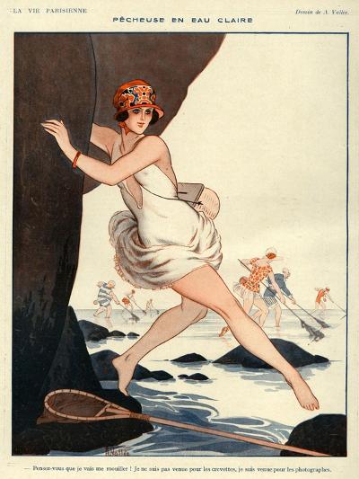 La Vie Parisienne, Armand Vallee, 1923, France--Giclee Print