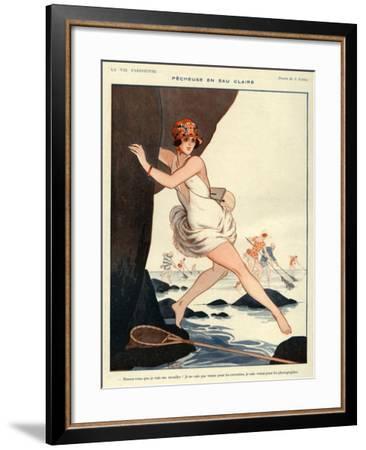 La Vie Parisienne, Armand Vallee, 1923, France--Framed Giclee Print