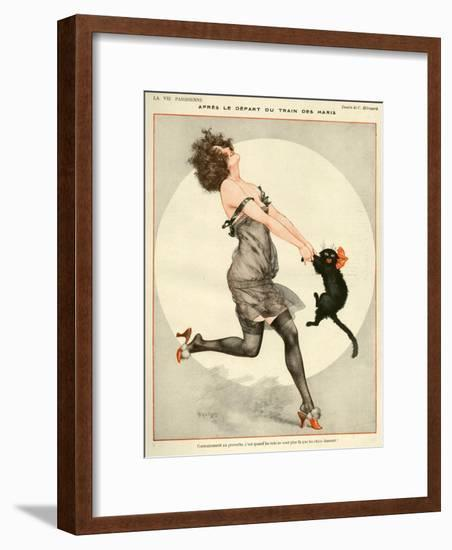 La Vie Parisienne, C Herouard, 1923, France--Framed Premium Giclee Print
