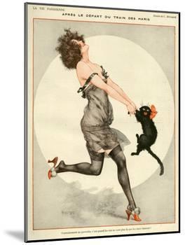 La Vie Parisienne, C Herouard, 1923, France-null-Mounted Giclee Print