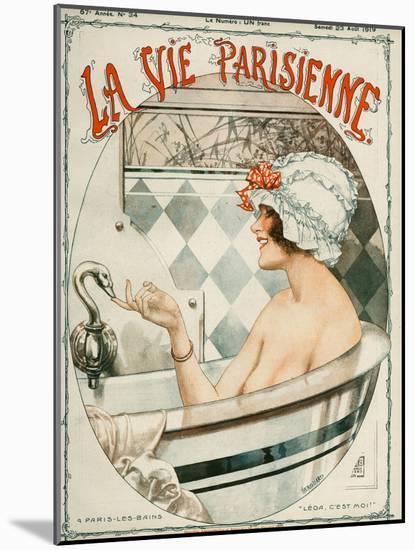 La Vie Parisienne, Cheri Herouard, 1919, France-null-Mounted Giclee Print