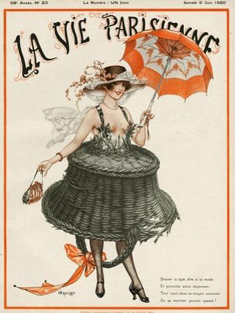 La vie Parisienne, Cheri Herouard, 1920, France