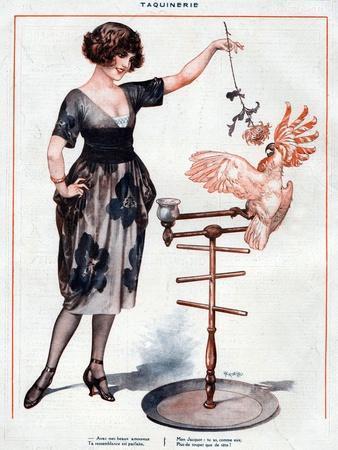 La Vie Parisienne, Cheri Herouard, 1922, France--Giclee Print