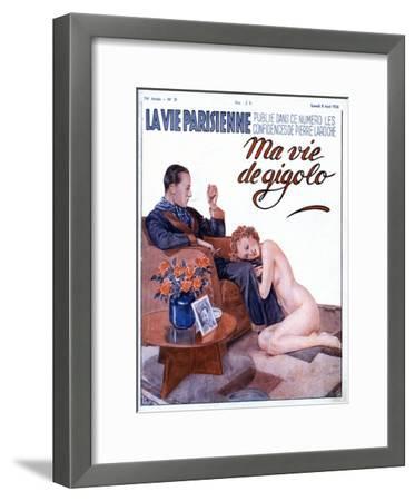 La Vie Parisienne, Couples Erotica Nudes Women Affairs Magazine, France, 1936